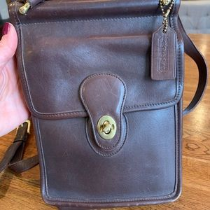 Vintage Coach purse with matching Coach wallet